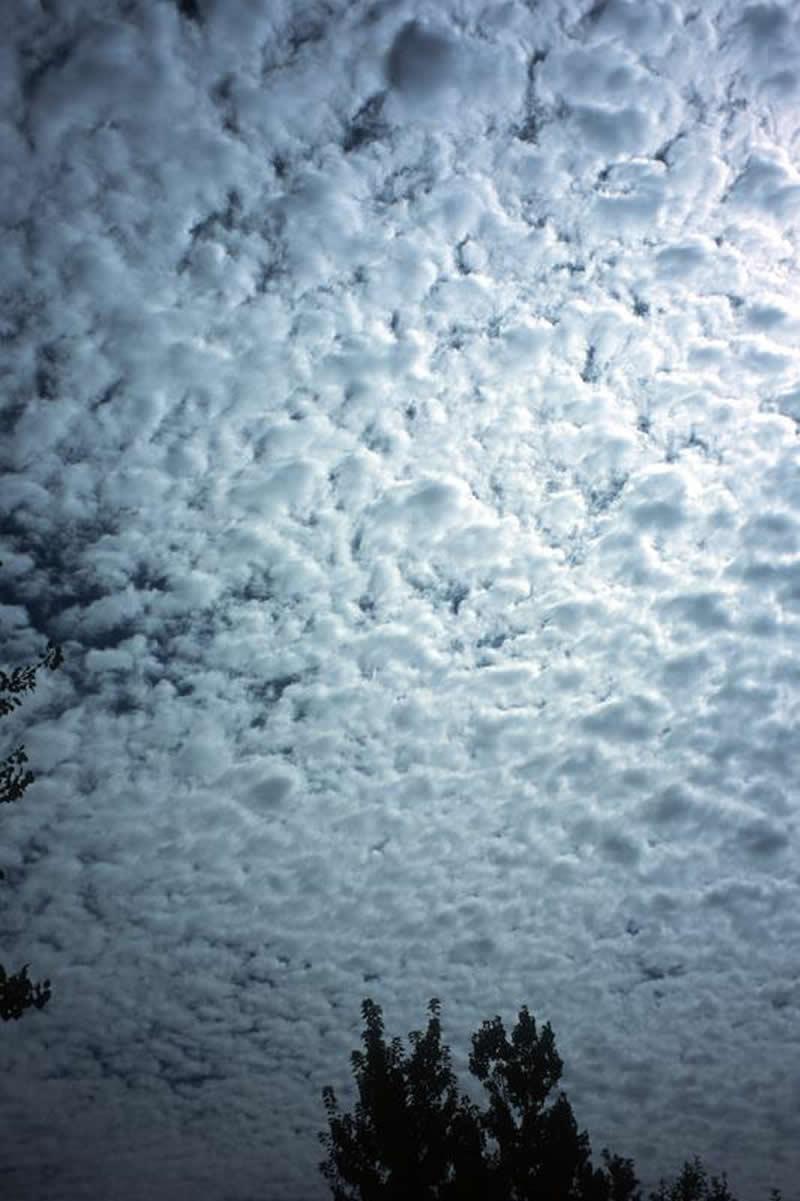 What Are Clouds? | NASA |Altocumulus Clouds Satellite