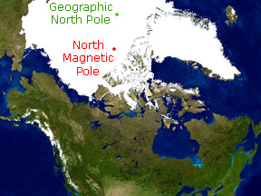 Earth's North Magnetic Pole
