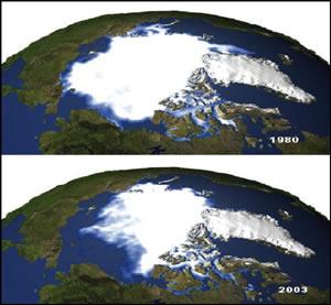 Calentamiento de las regiones polares  Ventanas al Universo