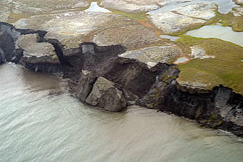 "<a href=""/earth/polar/cryosphere_permafrost1.html"">Permafrost</a> is
