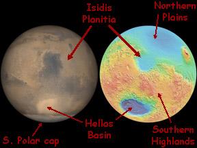 Mars Isidis Planitia Windows To The Universe