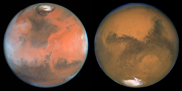 Poles Of Mars Image Gallery