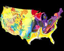 Geographic Regions and Backyard Geology with the USGS Tapestry Map