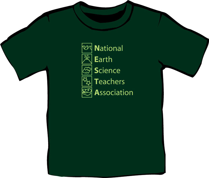 National Earth Science Teachers Association T-shirt