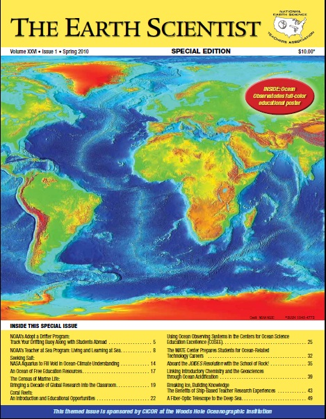 The Earth Scientist, Volume XXVI, Issue 1, Spring 2010