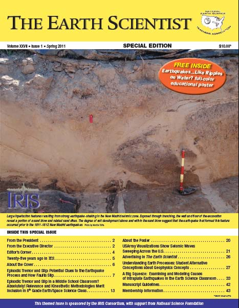 The Earth Scientist, Volume XXVII, Issue 1, Spring 2011