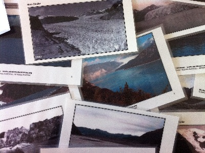 "Our <a href=""/teacher_resources/teach_glacier.html&edu=elem"">Glaciers: Then and Now</a> activity is an effective tool for discovering changes in land-based glaciers.  The activity includes a set of eight image pairs of Alaskan glaciers from 1899 to 2004. The activity is available