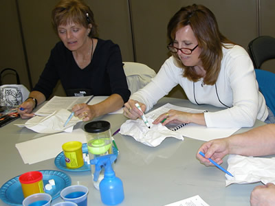 Teachers participating in one of our workshops at the NSTA National Conference 