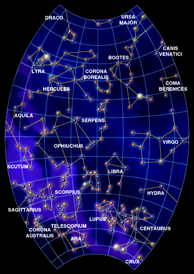 Go Back > Gallery For > Fall Constellations