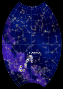 constellations scorpius windows to the universe